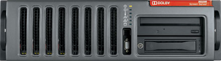 Dolby Screen Server (DSS200) Front View Medium