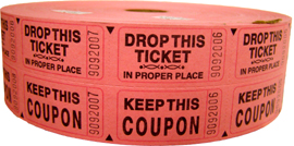 stock roll tickets